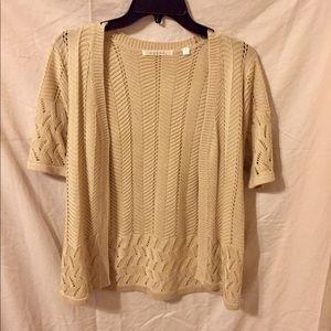 Cream Colored Sweater.